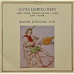 Sylvius Leopold Weiss - Konrad Junghänel - Suite C-Minor, Prelude And Fuga C-Major, Suite G-Minor - Accent - ACC 7910