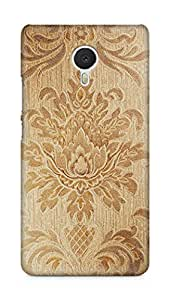 Amez designer printed 3d premium high quality back case cover for Meizu M3 Note (Vintage art texture pattern)