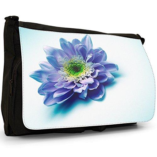 Fancy A Bag Borsa Messenger nero Daisy Pristinely Purple