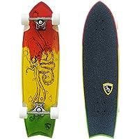 Remember Skate Longboard Collective Rastapus, 33 Zoll, SDRPC