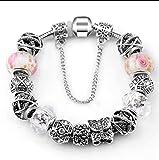 QWERST Mode Rhinestone Bracelet Bracelets De Charme pour Les Femmes Bijoux Bricolage 21Cm