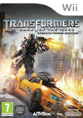 Transformers: Dark Of The Moon - Stealth Force Edition - Bundle (nintendo Wii)