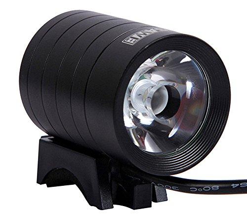 FREEMASTER Frontlicht Fahrrad LED Fahrradlampe USB Frontleuchte Wiederaufladbare-1000 lumens CREE (Schwarz 1)