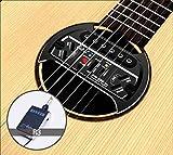 Belcat SW-500 Mic - Soundhole micro sans fil pour guitare acoustique - Récepteur inclus - Couleur: Noir
