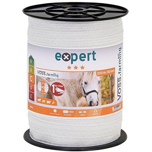 200-m-ruban-de-cloture-electrique-40-mm-conducteur-9-x-016-mm-acier-inoxydable-fil-cheval