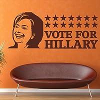 Hilary Clinton US Vota Icona & Celebrità Wall Stickers Home