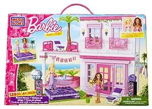 Mega bloks barbie la maison de la plage jeux et jouets - Barbie et sa maison de reve ...