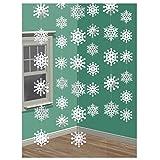 Weihnachten Winter Girlande Schneeflocken 6 x 2 Meter Schneehänger