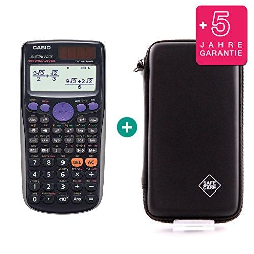 Casio FX 87 DE Plus + Schutztasche + Erweiterte Garantie