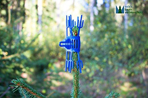 500 Stück Volk's Baum Verbissschutz (Qualität direkt vom Hersteller) - Schutz vor Wildverbiss