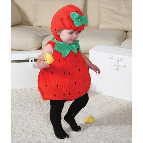Baby-Strawberry Beautiful Babies Fancy Dress von 3 bis 6 Monate ()