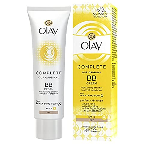 Olay Complete Care BB Cream SPF 15 with Max Factor