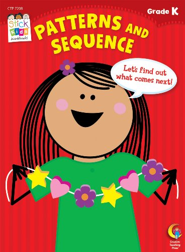 Patterns And Sequence Stick Kids Workbook Grade K Stick Kids Workbooks