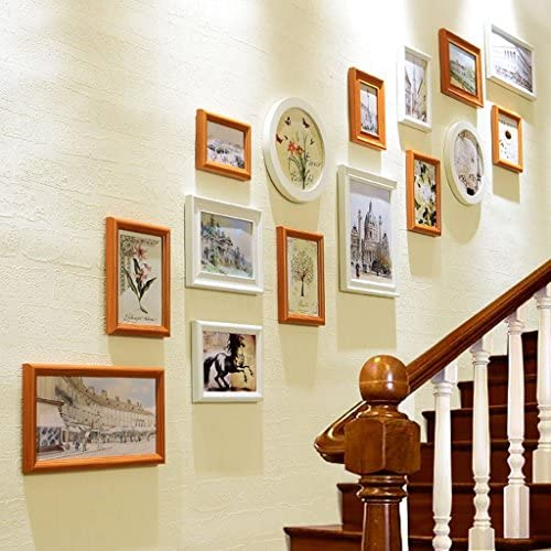 YMXLJF YMXLJF YMXLJF Muro decorativo Photo Wall europeo, parete foto scala, combinazione parete parete creativo set di cornici fotografiche (Coloreee   B)   Qualità In Primo Luogo    In Uso Durevole    New Style  d079f3