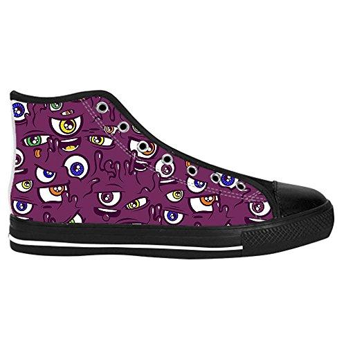 Dalliy eye pattern Men's Canvas shoes Schuhe Lace-up High-top Sneakers Segeltuchschuhe Leinwand-Schuh-Turnschuhe E