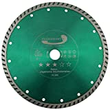 PRODIAMANT Diamant-Trennscheibe Beton/allgemeine Baumaterialien 230 mm x 22,2 mm Diamanttrennscheibe 230mm passend für Winkelschleifer