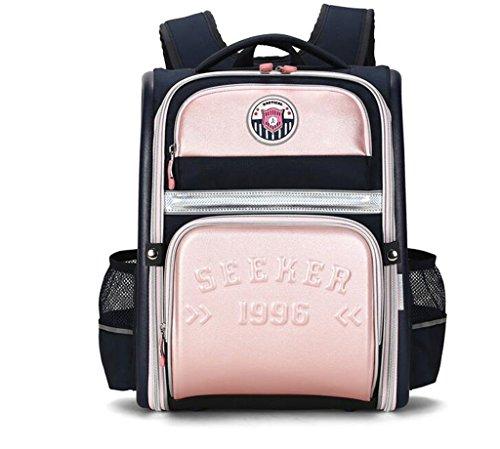 Rventric Studenten-Rucksack-Große Schultasche Für Kinder Reizendes Wasserdichtes Hochleistungs-Dekompressions-Krankenpflege-Kind-Geschenk,Pink