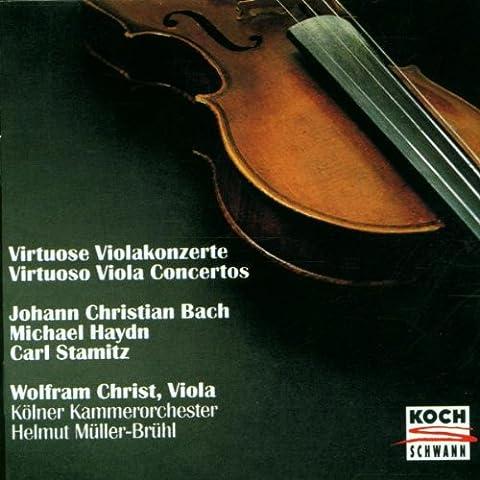 Virtuose Violakonzerte