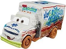 Disney Pixar Cars- Pixar Disney Cars 3-Super-Huit Mega Vehicule Ambulance, DYB22