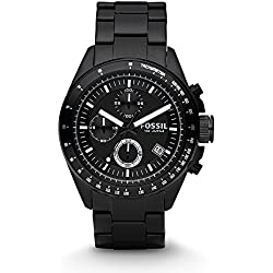 Fossil Decker Chronograph Black Dial Men's Watch - CH2601