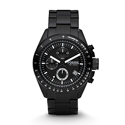 Fossil Decker Chronograph Analog Black Dial Men's Watch - CH2601