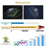 ABOX Android TV Box XB-III 2019 mit Mini Tastatur Bluetooth 4.0 Wifi 2.4Ghz,Verbesserte Wifi Antenne Smart TV Box Quad-Core Amlogic S905 Unterstützt 1080p/4K [2+16GB]