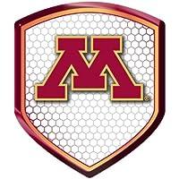NCAA Minnesota Golden Gophers Team Shield Automobile Reflector by Team