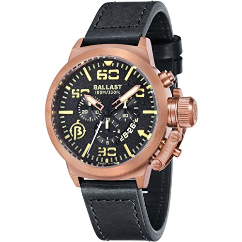 Ballast Mens Stainless Watch Trafalgar Chronograph