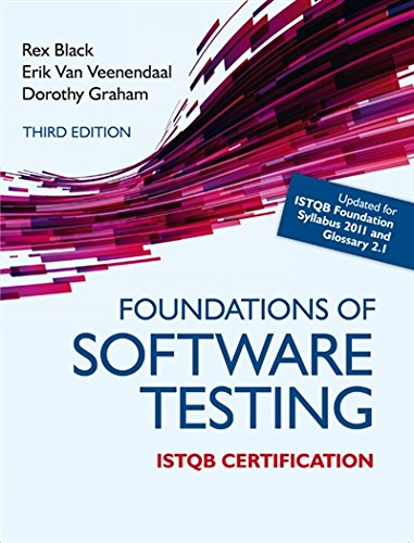 foundations of software testing istqb certification dorothy graham free download