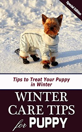 Winter Care Tips for Puppy: Tips to Treat Your Puppy in Winter (English Edition) (Dog Coat Treats)