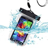 Premium wasserdicht Sporthülle Runner/Running Tasche für BLU Selfie, VIVO Air, Studio Energie, Studio 5.0C HD, Win HD, Win HD LTE, W110i (Tank 4.5), D310(Dash 4.5), A310A (Advance 4.5), Microsoft Lumia 540Dual, Lumia 640, Apple iPhone 6, Amazon Fire Phone, Samsung Galaxy S6/S6Edge/S5/S 4(mit Lanyard) (t-clear) + mynetdeals Mini Touchscreen Stylus