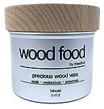 Tree&Co Wood Food - Holzpflege Wachs Für Schneidebretter, Möbel und Holzspielzeug (Japanische Zeder Hinoki - 200ml)