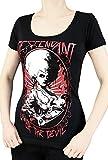 T-Shirt Noir Descendant Of The Devil Horreur Gothique - XL