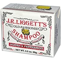Shamp Bar, Jojoba& Peppermint, 3.5 oz ( Multi-Pack) by J.R. LIGGETT'S