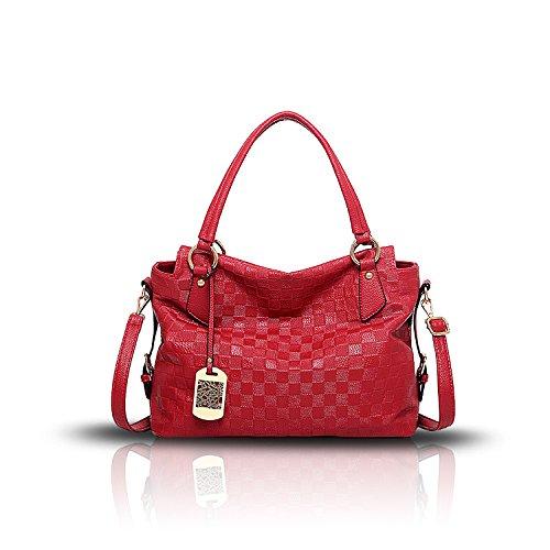 Tisdain Borse molle del sacchetto del messaggero della spalla del sacchetto del modello di modo solido di nuovo modo della borsa delle signore