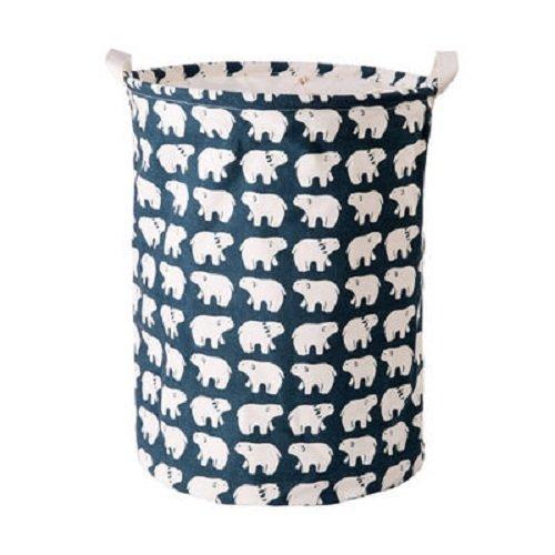Cesto de colada SFGHOUSE, grande, plegable, para ropa sucia de hogar, con asas, cesto para colada, organizador de juguetes, ropa, contenedor