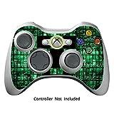 Xbox 360 Controller Designfolie Sticker - Vinyl Aufkleber Schutzfolie Skin für Xbox 360 Controller - Green Digicamo