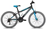 Torpado bici mtb junior viper 24'' 3x6v nero blu (Bambino) / bicycle mtb junior viper 24'' 3x6s black blue (Kid)