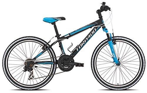 TORPADO-Bicicleta-de-montaa-infantil-24-3-x-6-V-color-negro-y