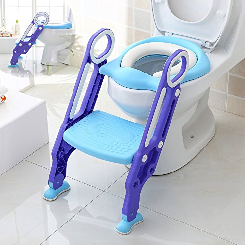 Aitsite Potty Toilet Trainer Seat Ajustable Baby...