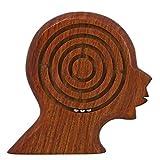 Handgemachte Hölzerne Gehirn Labyrinth-Rätsel Für Kinder - 14 Cm - Kinder Labyrinth-Spiel - Einzigartige Geschenke Für Kinder