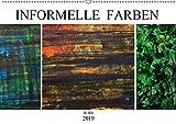 Informelle Farben (Wandkalender 2019 DIN A2 quer): Freuen Sie sich auf diese Auswahl abstrakter Malerei. (Monatskalender, 14 Seiten ) (CALVENDO Kunst)