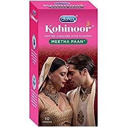 Durex Kohinoor Condoms - 10 Count (Meetha Pan)