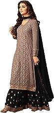 Dealbazaars Women's Anarkali Salwar Suit Heavy With Embroidery Work