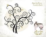 Lame arbres d'empreintes pour mariage–Lattes avec votre personnalisation, pour customiser vos arbres d'empreintes pour mariage