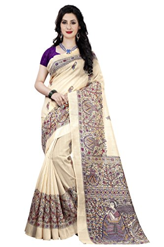 Color Trends Cotton Art Silk Saree With Blouse