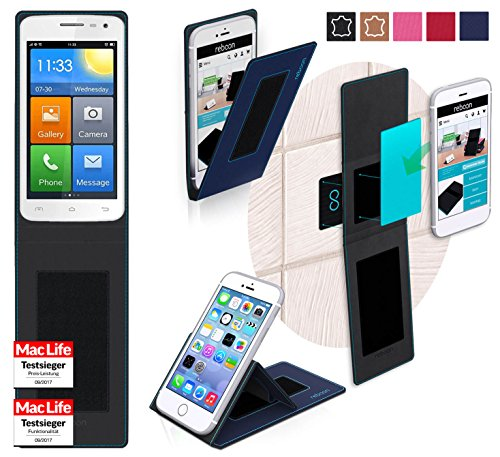 reboon Hülle für Elephone G3 Tasche Cover Case Bumper | Blau | Testsieger
