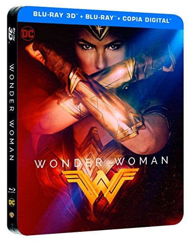 Wonder Woman Blu-Ray 3d Steelbook [Blu-ray]