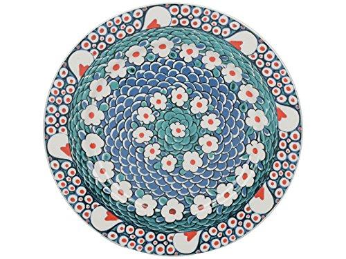 CREATIVE TOPS V A Iznik pétale &Assiette en Porcelaine Fine Multicolore