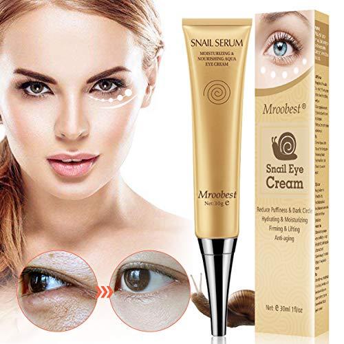 Augencreme, Eye Cream, Augenringe Creme, Augencreme Falten, Anti Aging Augenfaltencreme für Falten, Krähenfüße, Augenringe und Schwellungen - 30g -